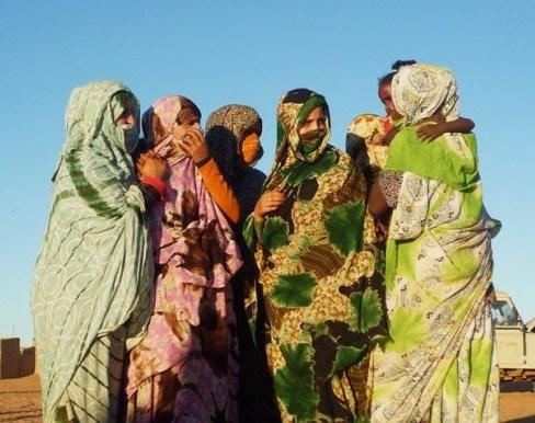 Resultado de imagen de mujeres saharauis